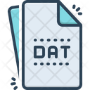Dat Dat File Document Icon