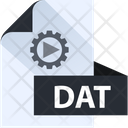 Dat File Dat File Format Icon