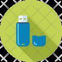Data Drive Flash Icon