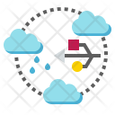 Data Cloud Server Icon