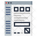 Data Analytics Document Icon