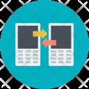 Data Exchanging Sharing Icon