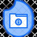 Data Folder Fire Icon
