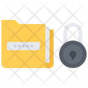Data Lock Folder Icon