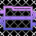 Data Worm Virus Icon