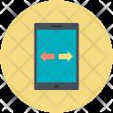 Data Transfer Concept Icon