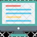 Data Monitor Network Fidelity Icon