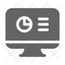 Data Analysis Monitoring Icon