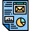 Marketing Data Data Marketing Report Icon