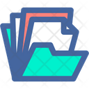 Data Document Folder Icon