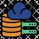 Data Cloud Database Icon