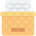 Data Folder Storage Icon