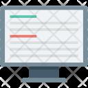Data Monitor Network Icon