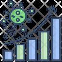 Data Coronaviruc Spread Graph Data Graph Icon