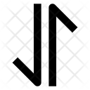 Arrow Data Upload Icon