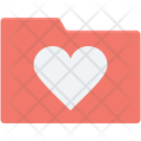 Data Folder Heart Icon