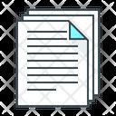 Data Document Documents Icon