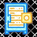 Data Server Color Icon