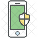 Data Protection Mobile Icon