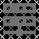 Data Share Storage Icon