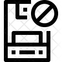 Data Block Storage Icon