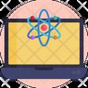 Data Science Computer Icon