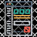 Data Analytics Document Icon