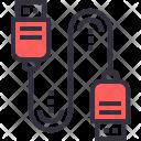 Data Cabel Share Icon