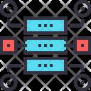 Data Workflow Structure Icon