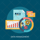 Data Management System Icon