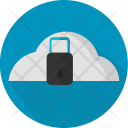 Data Cloud Security Icon