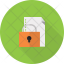 Data Lock Security Icon