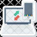 Data Downalod Mobile Icon