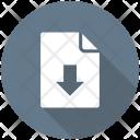 Data Download File Icon