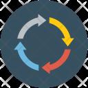 Data Exchange Recycle Icon