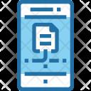 Data Document Mobile Icon