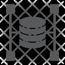 Data Database Warehouse Icon