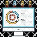 Data Processing Optimization Icon