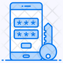 Data Access Mobile Security Safe Mobile Icon