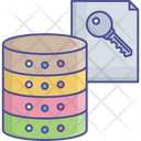 Data Access Database Authorization File Access Icon
