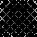 Data Algorithm Algorithmic Design Icon