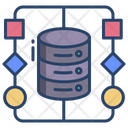 Data Algorithm Hierarchy Flow Icon