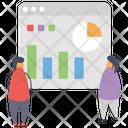 Data Analyics Web Analytics Infographic Icon