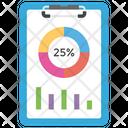 Data Analysis Growth Chart Graphical Analysis Icon