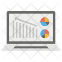 Data Analysis Statistical Analysis Online Business Analysis Icon