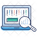 Data Analysis Data Monitoring Data Visualization Icon