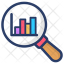 Growth Analysis Market Research Data Analysis Icon