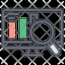 Online Data Data Analytics Bar Chart Icon