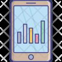 Data Analysis Stats Target Icon