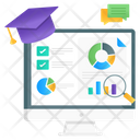 Data Analysis Data Statistics Graphical Analysis Icon